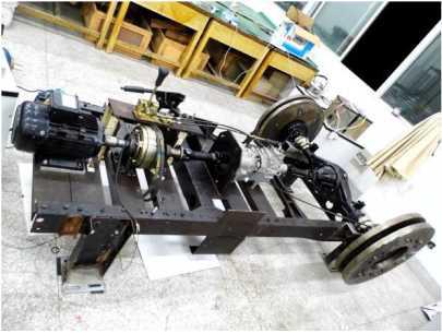 电动汽车用控制器性能、动力电池性能检测试验台